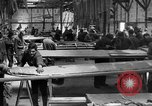 Image of Aircraft assembly factory France, 1918, second 15 stock footage video 65675043237