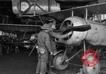 Image of Aircraft assembly factory France, 1918, second 22 stock footage video 65675043237