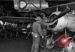Image of Aircraft assembly factory France, 1918, second 24 stock footage video 65675043237