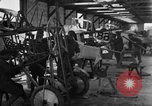 Image of Aircraft assembly factory France, 1918, second 48 stock footage video 65675043237