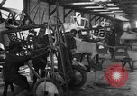 Image of Aircraft assembly factory France, 1918, second 50 stock footage video 65675043237