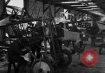 Image of Aircraft assembly factory France, 1918, second 52 stock footage video 65675043237