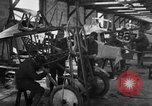 Image of Aircraft assembly factory France, 1918, second 53 stock footage video 65675043237