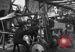 Image of Aircraft assembly factory France, 1918, second 56 stock footage video 65675043237