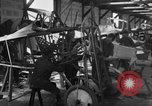 Image of Aircraft assembly factory France, 1918, second 57 stock footage video 65675043237