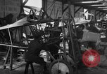 Image of Aircraft assembly factory France, 1918, second 59 stock footage video 65675043237