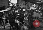 Image of Aircraft assembly factory France, 1918, second 62 stock footage video 65675043237