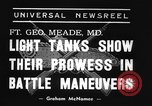 Image of 66th United States infantry tanks Fort Meade Maryland USA, 1938, second 5 stock footage video 65675043242