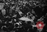 Image of Unrest in Tokyo over the Treaty of San Francisco Tokyo Japan, 1952, second 17 stock footage video 65675043254