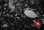 Image of Unrest in Tokyo over the Treaty of San Francisco Tokyo Japan, 1952, second 19 stock footage video 65675043254