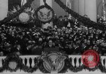 Image of President Franklin D Roosevelt fear itself speech Washington DC USA, 1933, second 20 stock footage video 65675043256