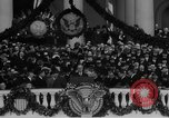 Image of President Franklin D Roosevelt fear itself speech Washington DC USA, 1933, second 26 stock footage video 65675043256