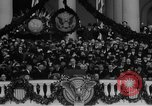 Image of President Franklin D Roosevelt fear itself speech Washington DC USA, 1933, second 34 stock footage video 65675043256