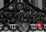 Image of President Franklin D Roosevelt fear itself speech Washington DC USA, 1933, second 35 stock footage video 65675043256
