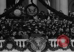 Image of President Franklin D Roosevelt fear itself speech Washington DC USA, 1933, second 40 stock footage video 65675043256