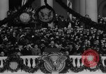 Image of President Franklin D Roosevelt fear itself speech Washington DC USA, 1933, second 41 stock footage video 65675043256