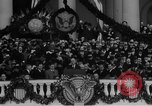 Image of President Franklin D Roosevelt fear itself speech Washington DC USA, 1933, second 43 stock footage video 65675043256