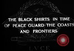 Image of Italian Black Shirt Guards Italy, 1929, second 5 stock footage video 65675043260