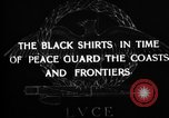 Image of Italian Black Shirt Guards Italy, 1929, second 7 stock footage video 65675043260