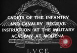 Image of Italian cadets Modena Italy, 1929, second 12 stock footage video 65675043261