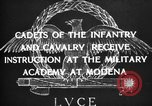 Image of Italian cadets Modena Italy, 1929, second 14 stock footage video 65675043261