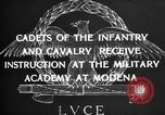 Image of Italian cadets Modena Italy, 1929, second 15 stock footage video 65675043261