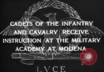 Image of Italian cadets Modena Italy, 1929, second 16 stock footage video 65675043261