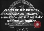 Image of Italian cadets Modena Italy, 1929, second 17 stock footage video 65675043261