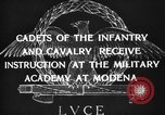 Image of Italian cadets Modena Italy, 1929, second 18 stock footage video 65675043261