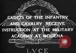 Image of Italian cadets Modena Italy, 1929, second 19 stock footage video 65675043261