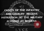 Image of Italian cadets Modena Italy, 1929, second 20 stock footage video 65675043261