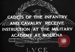 Image of Italian cadets Modena Italy, 1929, second 21 stock footage video 65675043261