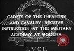 Image of Italian cadets Modena Italy, 1929, second 23 stock footage video 65675043261