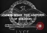 Image of Italian cadets Modena Italy, 1929, second 49 stock footage video 65675043261