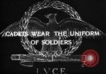 Image of Italian cadets Modena Italy, 1929, second 50 stock footage video 65675043261