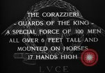 Image of The Corazzieri Italy, 1929, second 11 stock footage video 65675043284