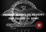 Image of Premier Benito Mussolini Italy, 1929, second 5 stock footage video 65675043286