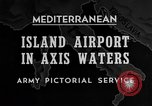 Image of United States airplane Mediterranean Sea, 1945, second 30 stock footage video 65675043287