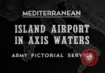 Image of United States airplane Mediterranean Sea, 1945, second 31 stock footage video 65675043287