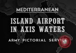 Image of United States airplane Mediterranean Sea, 1945, second 33 stock footage video 65675043287