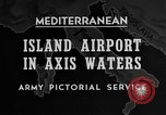 Image of United States airplane Mediterranean Sea, 1945, second 34 stock footage video 65675043287