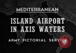 Image of United States airplane Mediterranean Sea, 1945, second 36 stock footage video 65675043287