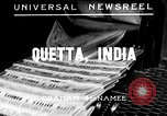 Image of Earthquake Quetta India, 1935, second 1 stock footage video 65675043312