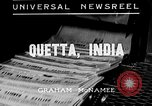 Image of Earthquake Quetta India, 1935, second 3 stock footage video 65675043312
