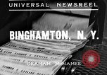 Image of flooded city Binghamton New York USA, 1935, second 3 stock footage video 65675043313