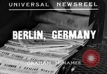 Image of German soldiers Berlin Germany, 1935, second 1 stock footage video 65675043318