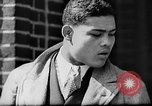 Image of boxer Joe Louis with Marva Trotter New York City USA, 1935, second 6 stock footage video 65675043320