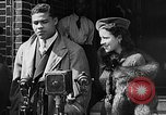 Image of boxer Joe Louis with Marva Trotter New York City USA, 1935, second 10 stock footage video 65675043320