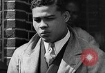 Image of boxer Joe Louis with Marva Trotter New York City USA, 1935, second 13 stock footage video 65675043320