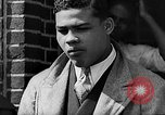 Image of boxer Joe Louis with Marva Trotter New York City USA, 1935, second 14 stock footage video 65675043320